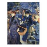 The Umbrellas by Renoir Postcards
