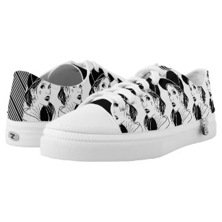 The Unconventional Girl Printed Shoes