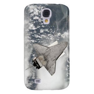 The underside of space shuttle Discovery Galaxy S4 Case