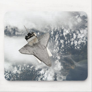 The underside of space shuttle Discovery Mouse Mat