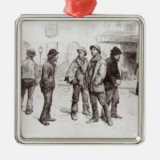 The Unemployed of London 2 Christmas Ornament