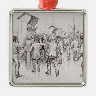 The Unemployed of London Christmas Ornament
