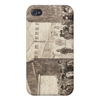 The Unemployed of London iPhone 4 Cover