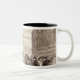 The Unemployed of London Two-Tone Coffee Mug