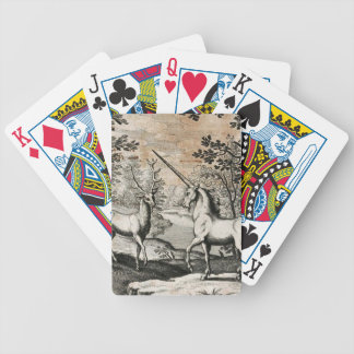 The Unicorn and the Stag Playing Cards