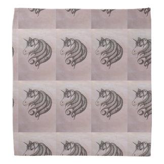 The unicorn head kerchief