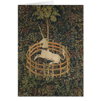 The Unicorn in Captivity Card