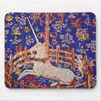 """""""The Unicorn in Captivity"""" Mouse Pad"""
