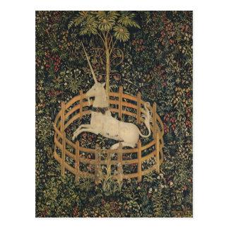 The Unicorn in Captivity Postcard