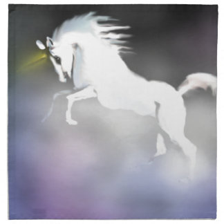 The Unicorn in the Mist Cloth Napkins