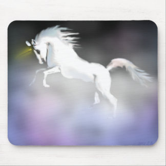 The Unicorn in the Mist Mouse Mat