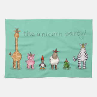 The Unicorn Party Kitchen Towel