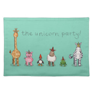 The Unicorn Party Placemat
