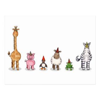 The Unicorn Party Postcard