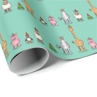 The Unicorn Party Wrapping Paper