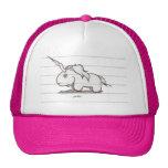 the unicorn trucker hats