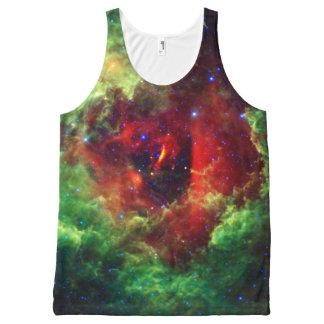 The Unicorns Rose Rosette Nebula All-Over Print Tank Top