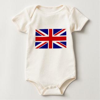 The Union Jack Flag Baby Bodysuit