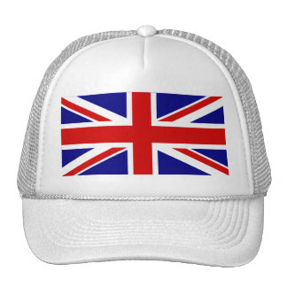 The Union Jack Flag Trucker Hat