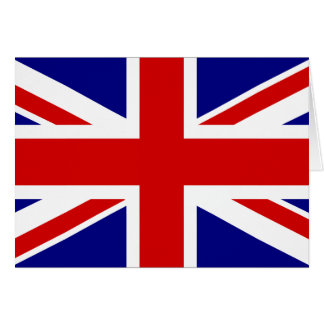 The Union Jack Flag Card
