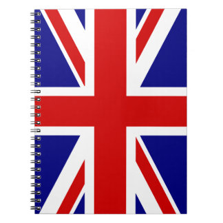 The Union Jack Flag Notebooks