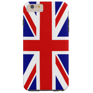 The Union Jack Flag of the UK - United Kingdom Tough iPhone 6 Plus Case