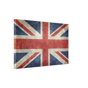 Union Jack Canvas Prints & Wall Art | Zazzle.co.uk