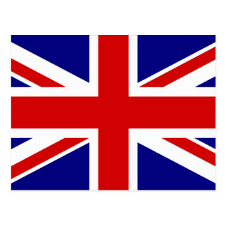 The Union Jack Flag Postcard