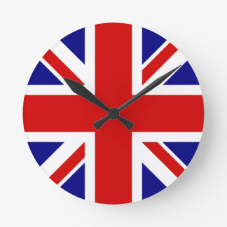 The Union Jack Flag Round Clock