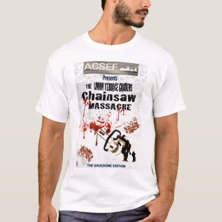 THE UNION TERRACE GARDENS CHAINSAW MASSACRE T-Shirt