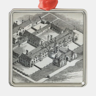 The Union Workhouse to be erected at Christmas Ornament