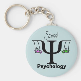 The Unique School Psychology Key Chain