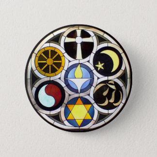 The Unitarian Universalist Church Rockford, IL 6 Cm Round Badge