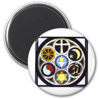 The Unitarian Universalist Church Rockford, IL 6 Cm Round Magnet