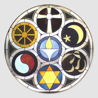 The Unitarian Universalist Church Rockford, IL Classic Round Sticker