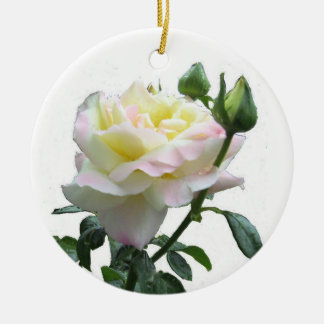 The United Nation's Peace Rose Christmas Ornament