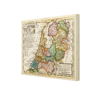 The United Provinces or Netherlands Canvas Print