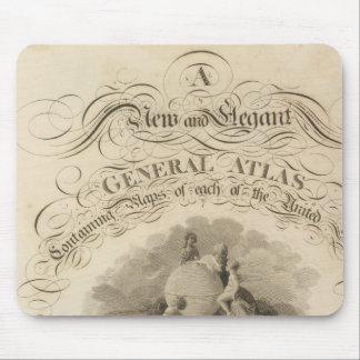 the United States atlas Mouse Pad