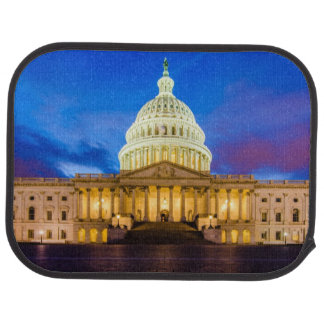 The United States Capitol at blue hour Car Mat