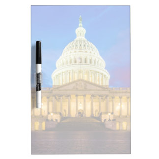 The United States Capitol at blue hour Dry Erase Whiteboards