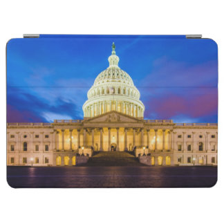 The United States Capitol at blue hour iPad Air Cover