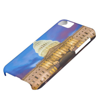 The United States Capitol at blue hour iPhone 5C Case