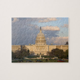 The United States Capitol Building in Jigsaw Puzzle