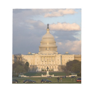 The United States Capitol Building in Notepad