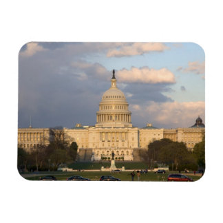 The United States Capitol Building in Rectangular Photo Magnet