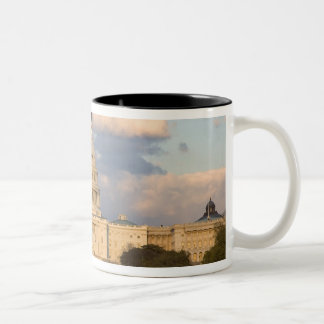 The United States Capitol Building in Two-Tone Coffee Mug