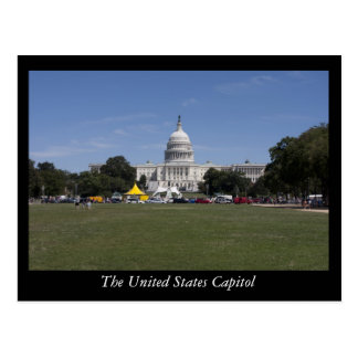 The United States Capitol Postcard