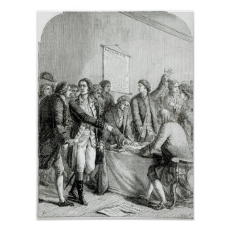 The United States Declaration of Independence Poster