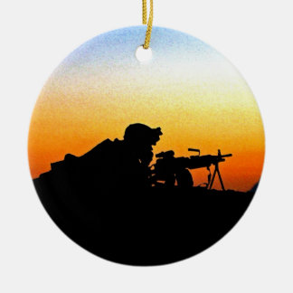 The United States Marine Corps' Hymn Christmas Ornament