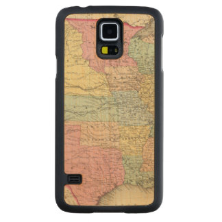 The United States Of America Carved Maple Galaxy S5 Case